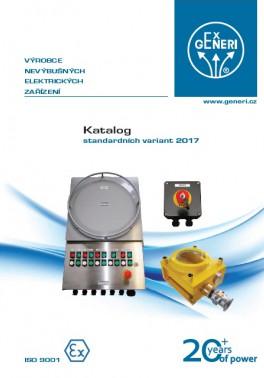 Katalog standardních variant 2017
